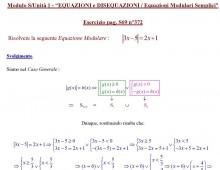 Equazioni con Valore Assoluto (Ex. S069.372)