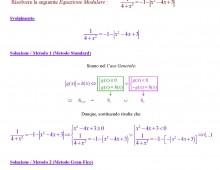 Equazioni con Valore Assoluto (Ex. S070.381)