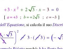 Equazioni di Secondo Grado Intere con Delta Positivo (Ex. 693.057) – Parte II