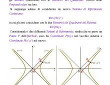 Iperbole Equilatera Riferita ai Propri Asintoti (Lezione 8)