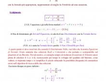 Equazioni di Secondo Grado Intere con Delta Uguale a Zero (Ex. 692.041b) (Articolo Doppio)
