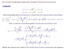 Equazioni di Secondo Grado Intere con Delta Positivo (Ex. 693.057)  (Articolo Doppio)