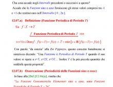 Periodicità delle Funzioni Seno e Coseno