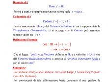 Studio delle Funzioni Seno e Coseno